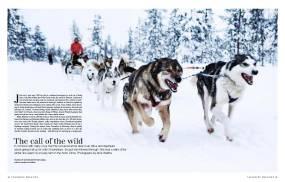 Arctic winter 1 - Telegraph magazine