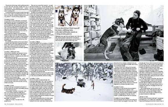 Arctic winter 2 - Telegraph magazine