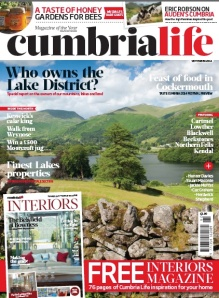 Who owns the Lake District - Cumbria life cover