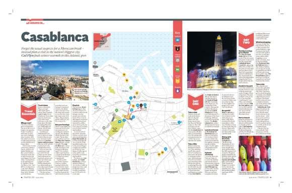 48 hours in Casablanca