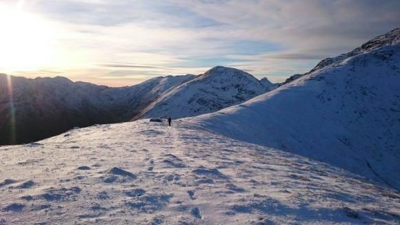 adrian hopkins - ridge Sgurr Mor